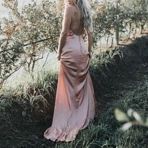 Lovers + Friends Lydia slip gown
